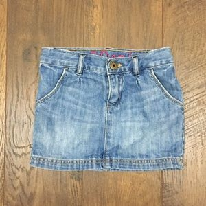 Gap mini jean skirt